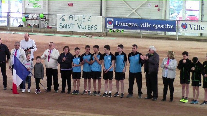 Demi-finales, présentation des équipes, France Clubs Jeunes, Limoges 2018