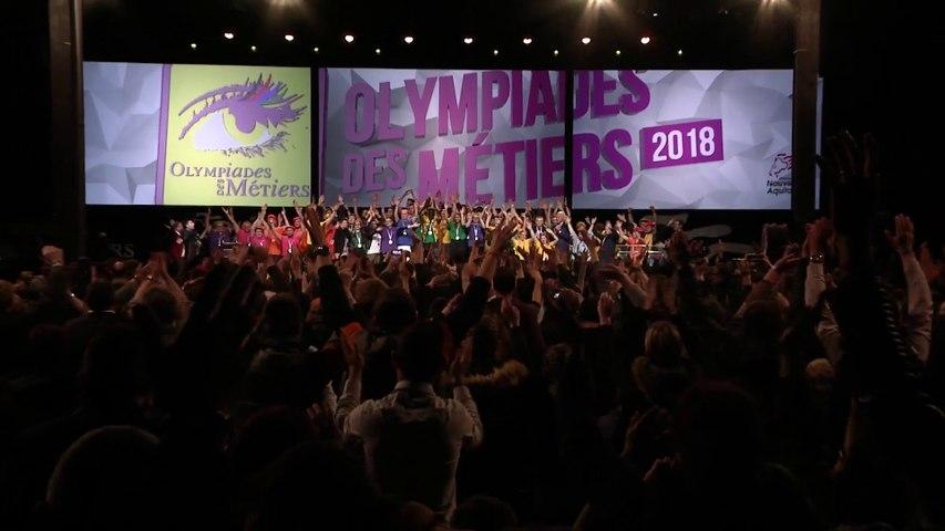 Olympiades des Métiers 2018 - Clôture