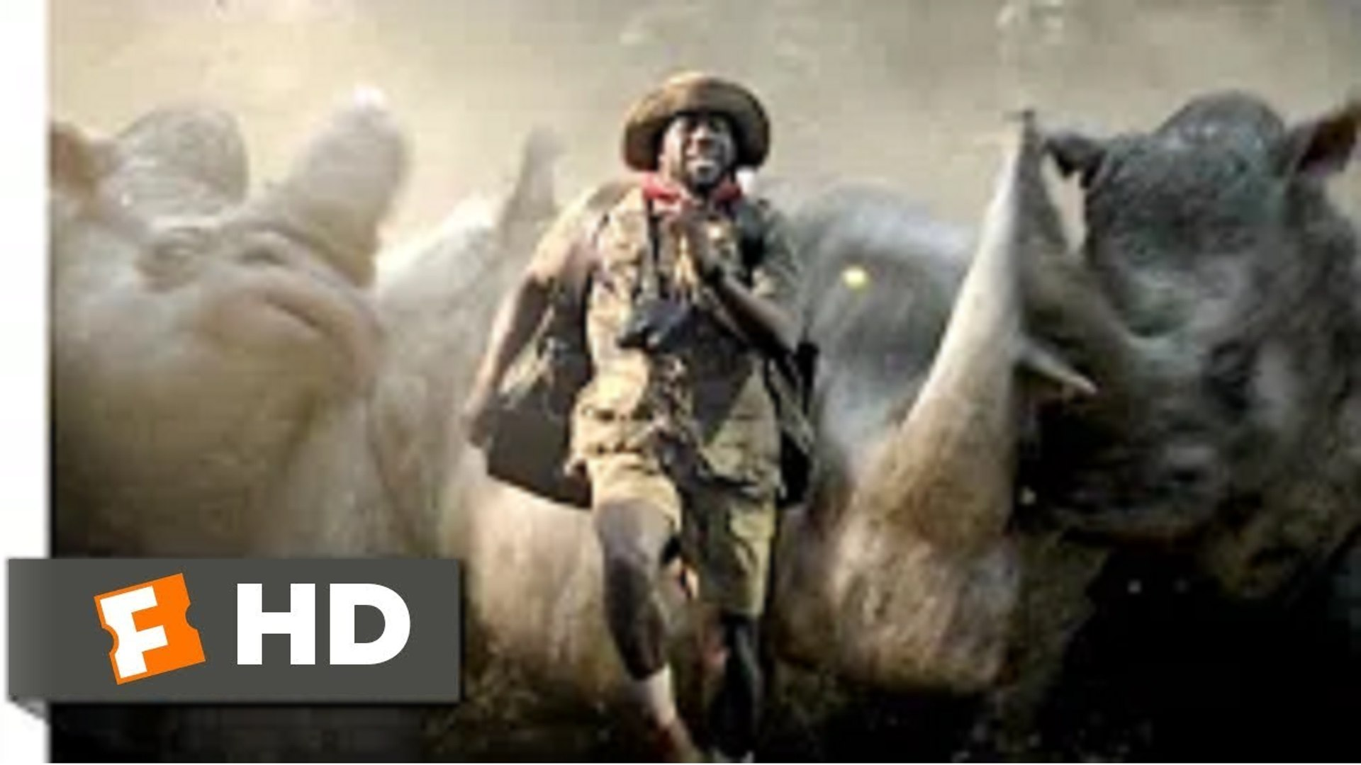 Jumanji 2 - Welcome to the Jungle (2017) - Run, Fridge, Run Scene (7-10) - Hollywood Movies English