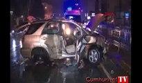 Ermenistan plakalı araç kaza yaptı: 1 ölü, 4 yaralı