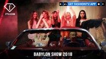 Ania J at Babylon Fashion Show 2018 Beautiful People Fall/Winter 2018-19 | FashionTV | FTV