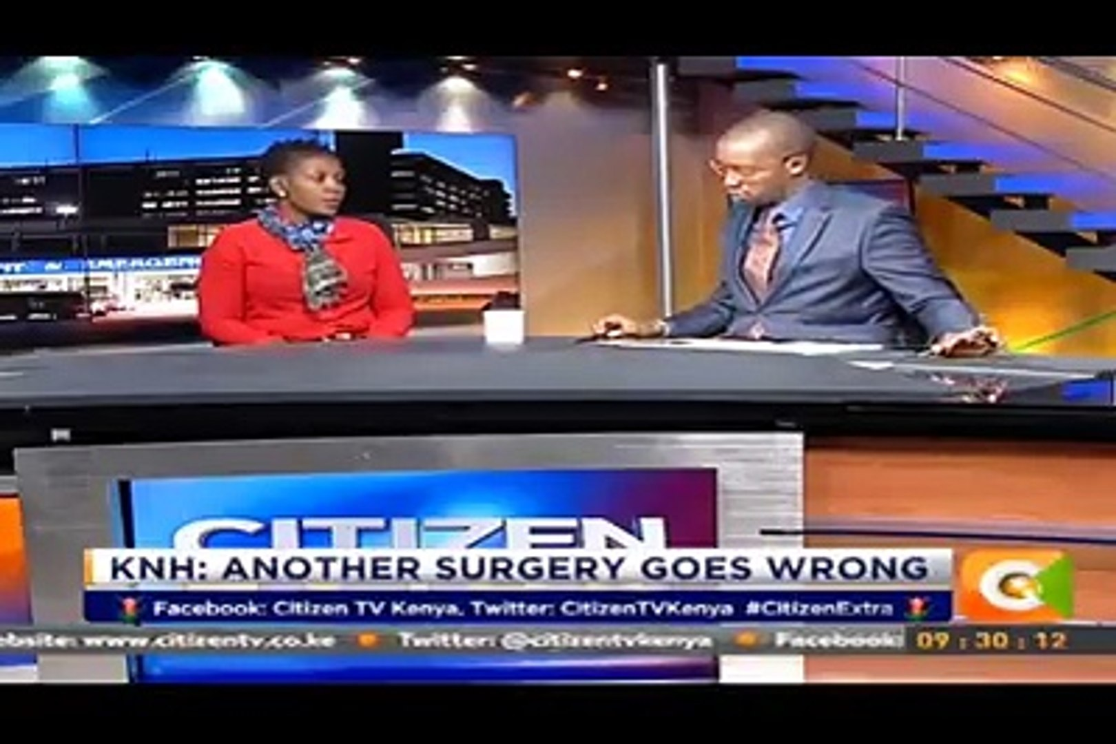 Relative (Everlyne Anindo) to the woman involved in yet another botched surgery at Kenyatta National
