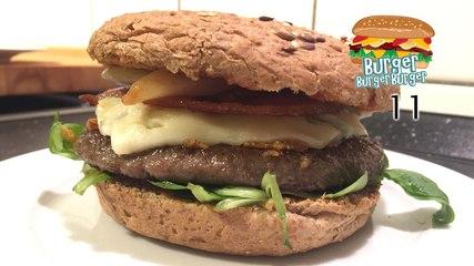 Winter-Burger mit Birnen & Gorgonzola - BurgerBurgerBurger 11