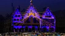 عروض الأضواء في مهرجان لوميناله