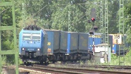 Rechte Rheinstrecke Leubsdorf - Bad Hönningen,151,2xDB185,ATC-Crossrail 185 ,2x145, 3x143, 2x425