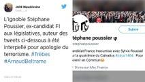 Mort d'Arnaud Beltrame. Un ex-candidat France Insoumise en garde à vue pour apologie du terrorisme.