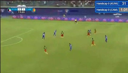 Christian Bassogog Goal - Kuwait 0-2 Cameroon 25-03-2018