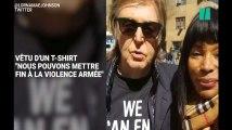 Paul McCartney a rejoint la marche contre les armes à feu en mémoire de John Lennon