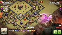 Clash of clans QW com bowler e QW laloon th11