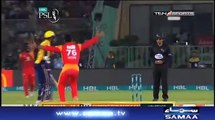 PSL 3 Final Peshawar Zalmi Fall Of Wickets - Peshawar Zalmi Vs Islamabad United