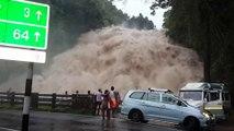En Inde les gens viennent admirer cette chute d'eau dévastatrice et terrifiante : Chappa Waterfall - Kerala