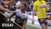 TOP 14 - Essai Malakai FEKITOA 2 (RCT) - Toulon - Clermont - J22 - Saison 2017/2018