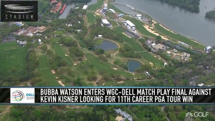 Bubba Watson Tops Kevin Kisner to Win WGC-Dell Match Play