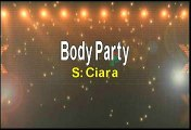 Ciara Body Party Karaoke Version