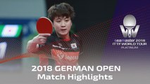 2018 German Open Highlights I Xu Xin vs Jeoung Youngsik (R16)