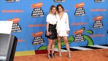 Candace Cameron-Bure and Natasha Bure 2018 Kids' Choice Awards Orange Carpet