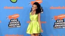 Daniella Perkins 2018 Kids' Choice Awards Orange Carpet