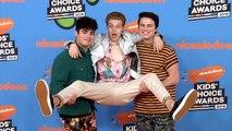Forever in Your Mind 2018 Kids' Choice Awards Orange Carpet