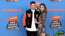 Jack Griffo, Paris Berelc 2018 Kids' Choice Awards Orange Carpet