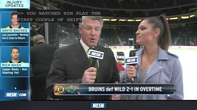 NESN Sports Today: Tuukka Rask Shines In Bruins' OT Win Over Wild