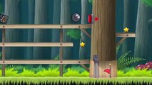 RED BALL 4 as BLACK BALL. RED BALL Adventure! Video for Kids and toddlers. BALL Super HERO