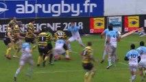 J28 - Résumé du match Aviron Bayonne / Stade Montois