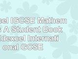 Edexcel IGCSE Mathematics A  Student Book 2  Edexcel International GCSE 9cd0fb52