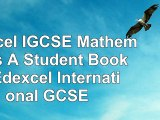 Edexcel IGCSE Mathematics A  Student Book 2  Edexcel International GCSE 6c5e4484