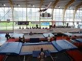 Trampoline : 200 gymnastes réunis à Annonay