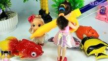 [ALIBABA KIDS] - Đồ chơi trẻ em BÉ NA CÂU CÁ KHỔNG LỒ CÙNG VỚI BÚP BÊ BARBIE VUI NHỘN- KN Channel FISHING TOY