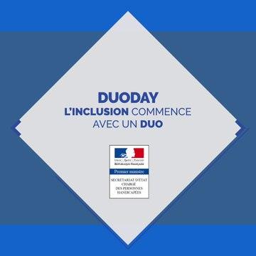 Duoday2018 : l'inclusion commence avec un duo