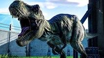 JURASSIC WORLD EVOLUTION : Tous les Dinosaures du Jeu