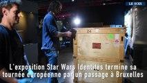 Exposition Star wars : la marionnette de Maître Yoda est arrivée à Bruxelles