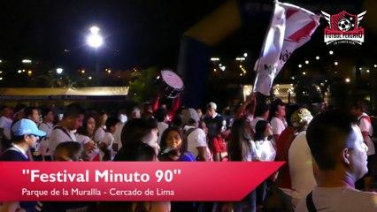 Per´u vs Croacia: Así vivieron los hinchas en el Festival Minuto 90