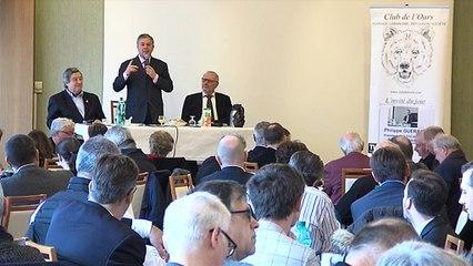 Le Club de l'OURS a reçu Philippe Guerand, Président de la CCI Auvergne-Rhône Alpes
