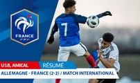U18, Amical : Allemagne-France (2-2), le résumé