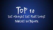 Top 10 : Les mangas les plus longs