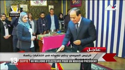 Égypte: 60 millions d'électeurs pour un vote sans surprise