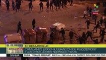 Represión de policías españoles deja 33 soberanistas heridos