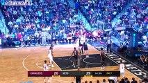 LeBron James Full Highlights 2018.3.25 Cavs at Nets - 37-10-8, SAVAGE Dunks! | FreeDawkins