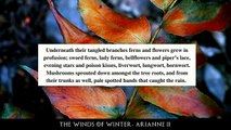 Game of Thrones/ASOIAF Theories | Winter is Coming | The Winds of Winter Arianne II | Part 1