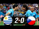 Uruguai 2 x 0 Republica Tcheca (HD) GOLAÇO DE CAVANI - Gols & Melhores Momentos - Copa da China 2018