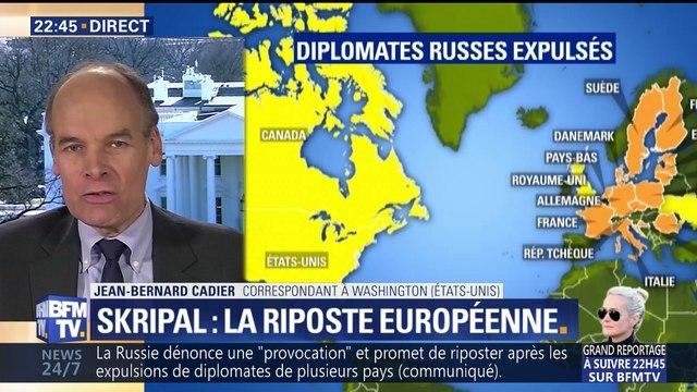 Affaire Skripal: les États-Unis et 14 États européens expulsent des diplomates russes