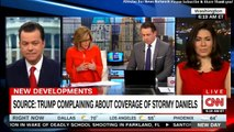 Panel on Source: Trump complaining about coverage of Stormy Daniels. #DonaldTrump @StormyDaniels