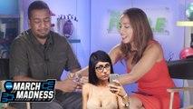 Britt Johnson Makes Matt Slide Into Mia Khalifa's DM's For Busted Bracket! | March Madness