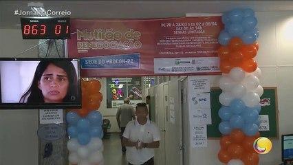 Jornal da Correio -Duas semanas de mutirão para acordos via PROCON, na capital