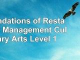 Foundations of Restaurant Management  Culinary Arts Level 1 d07da8d4