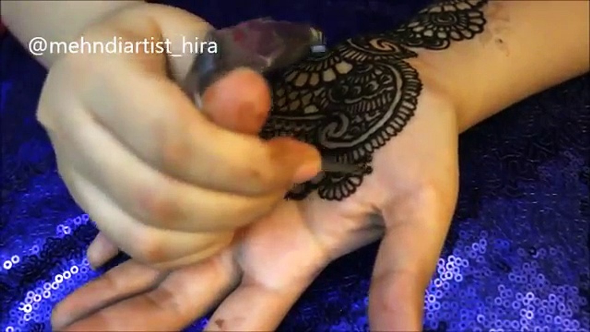 mehndi designs 2017:How to apply easy simple latest palm mehndi designs for hands tutorial for eid