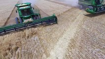 DJI Phantom 3 Professional, Idaho Grain Harvest, Vista Valley AG (Boyd Foster Farms) new