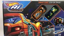 Hot Wheels AI Intelligent Race System Starter Kit - Unboxing Demo Review || Keiths Toy Box